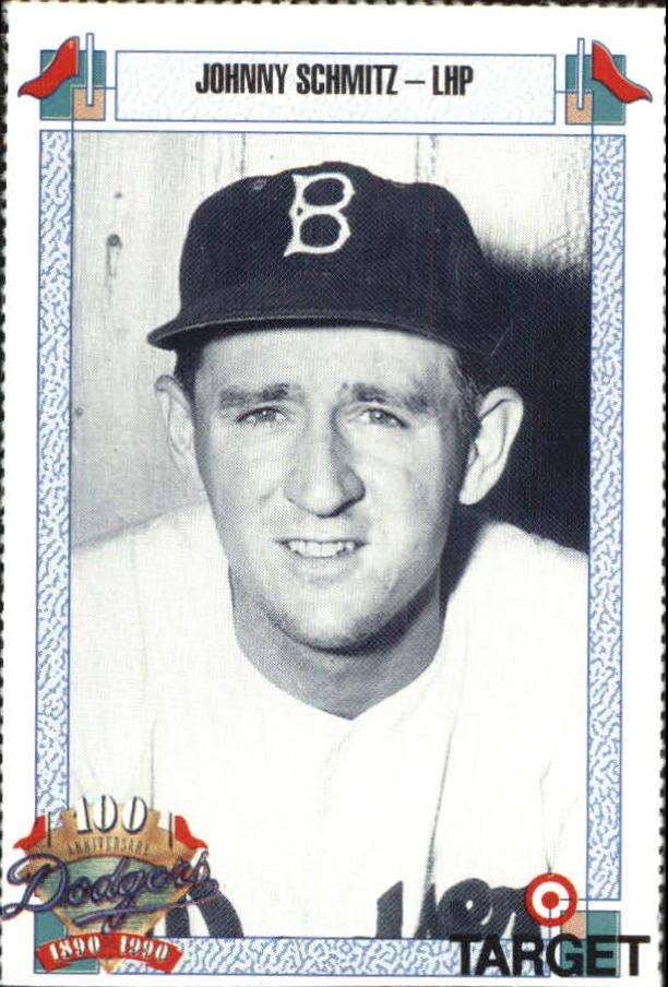 1990 Dodgers Target #709 Johnny Schmitz