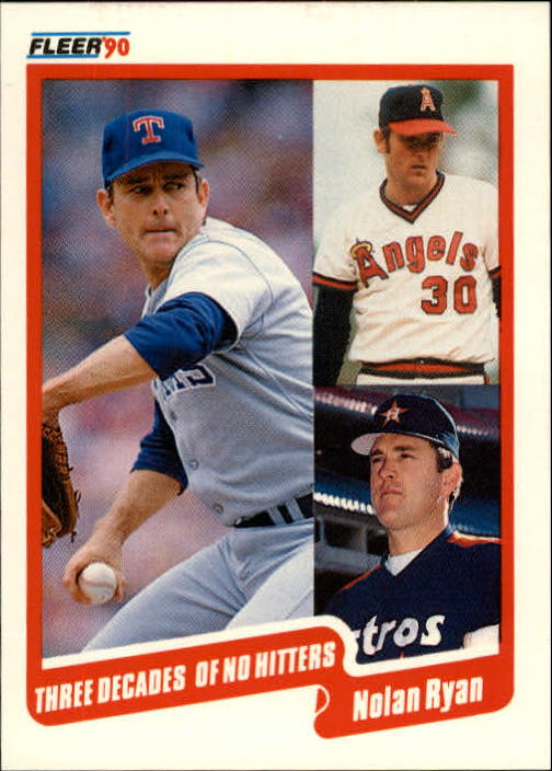 1990 Fleer Update #131 Nolan Ryan SPEC