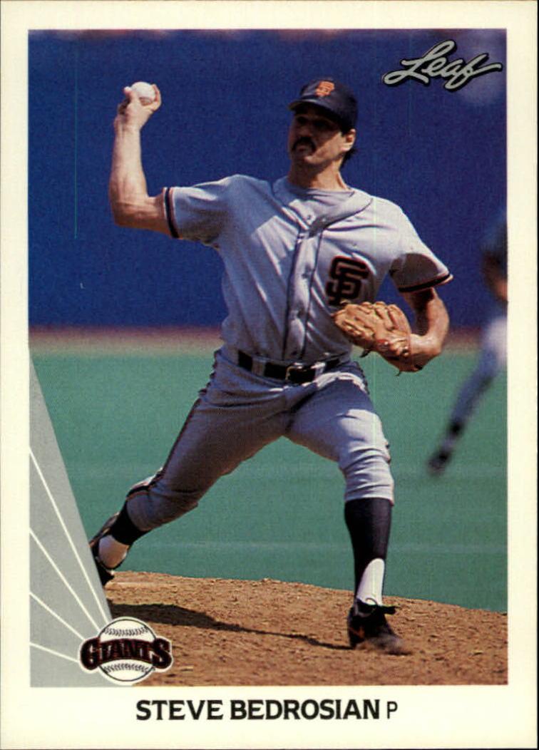 1990 Leaf #3 Steve Bedrosian