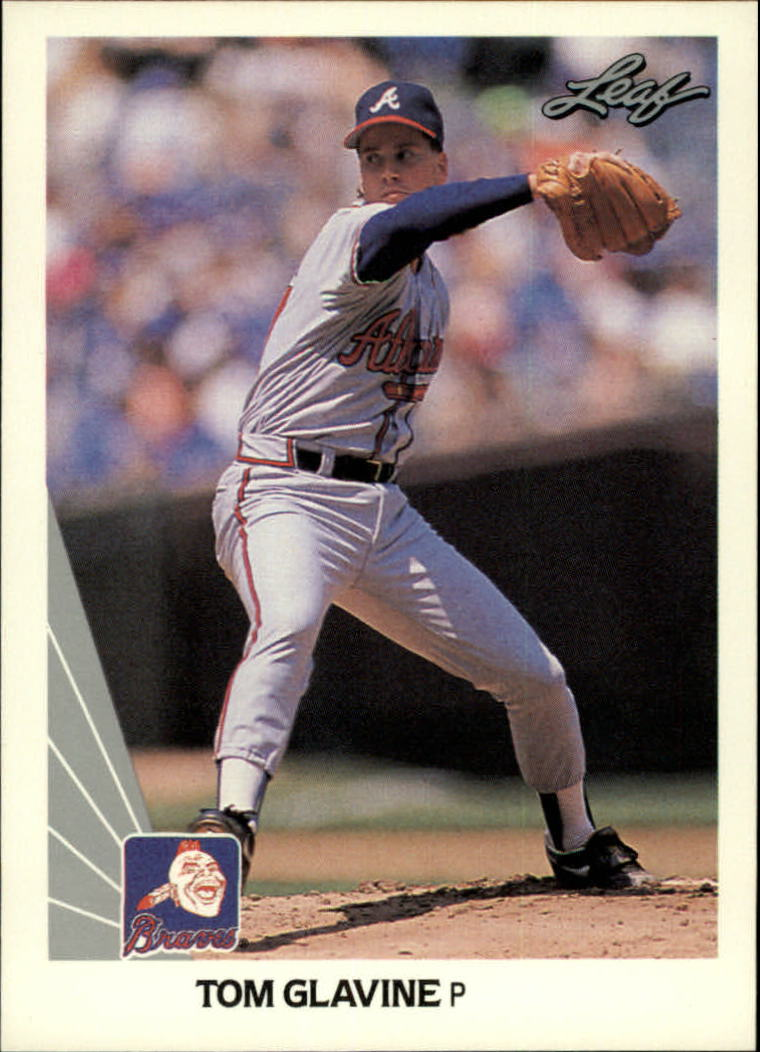 1990 Leaf #13 Tom Glavine