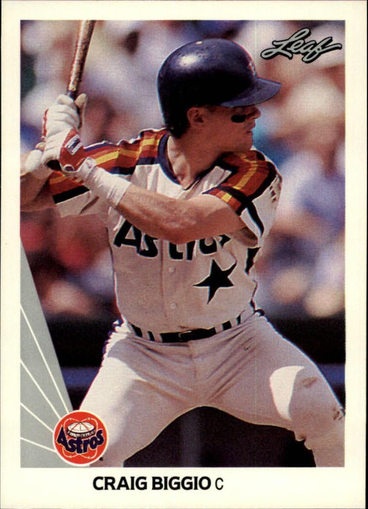 1990 Leaf #37 Craig Biggio