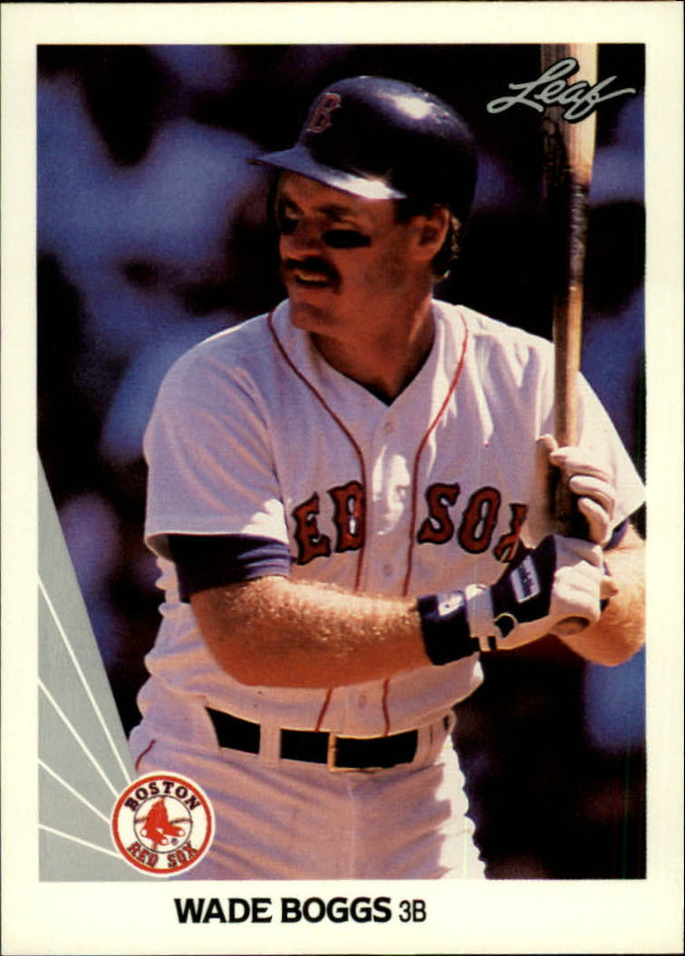 1990 Leaf #51 Wade Boggs