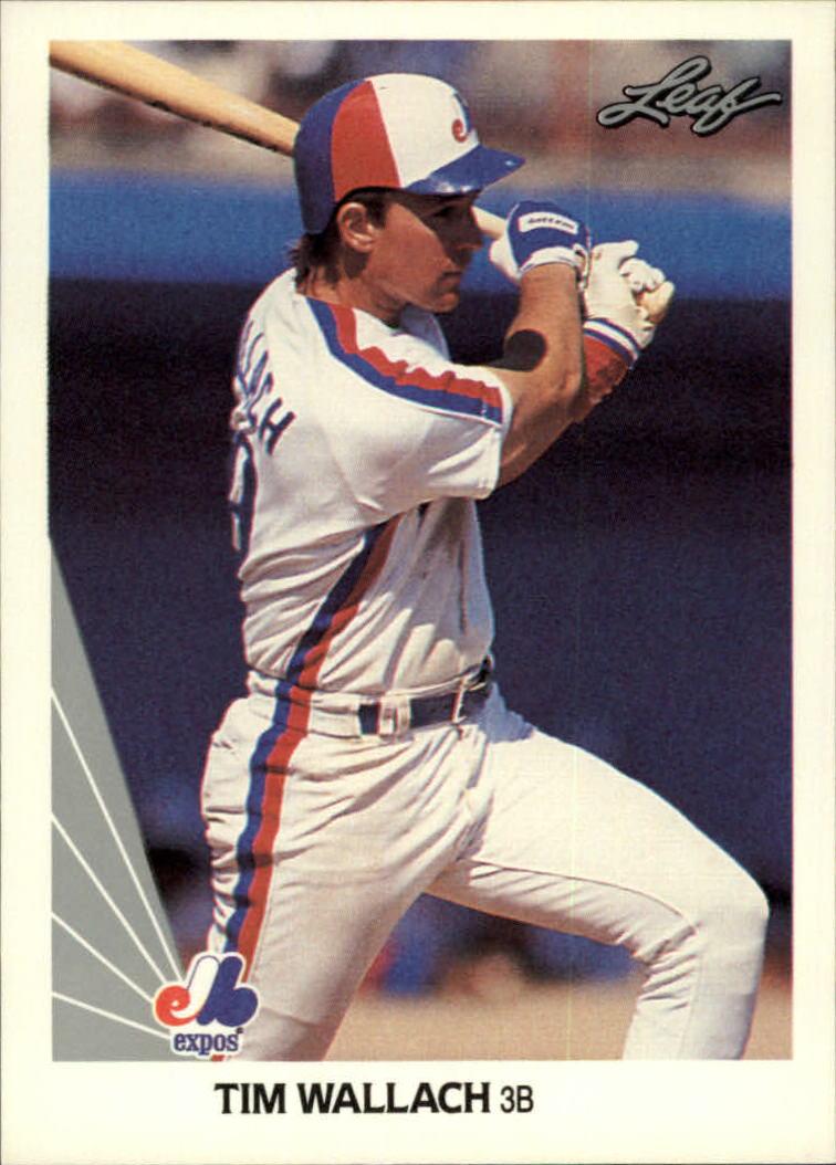 1990 Leaf #80 Tim Wallach