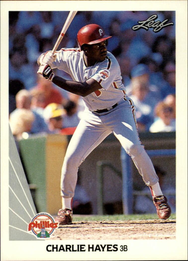 1990 Leaf #131 Charlie Hayes