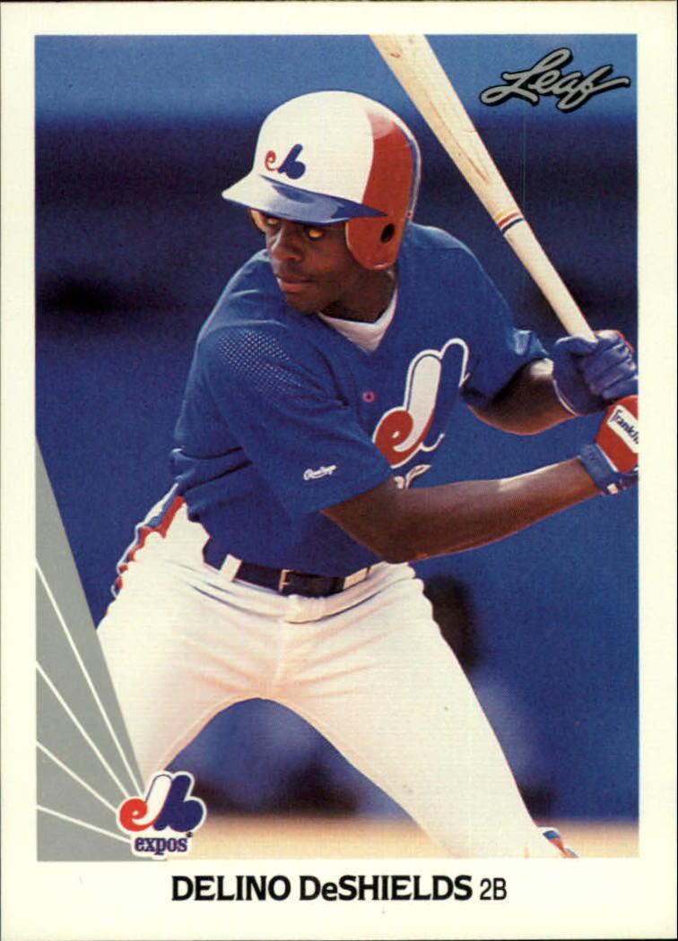 1990 Leaf #193 Delino DeShields RC