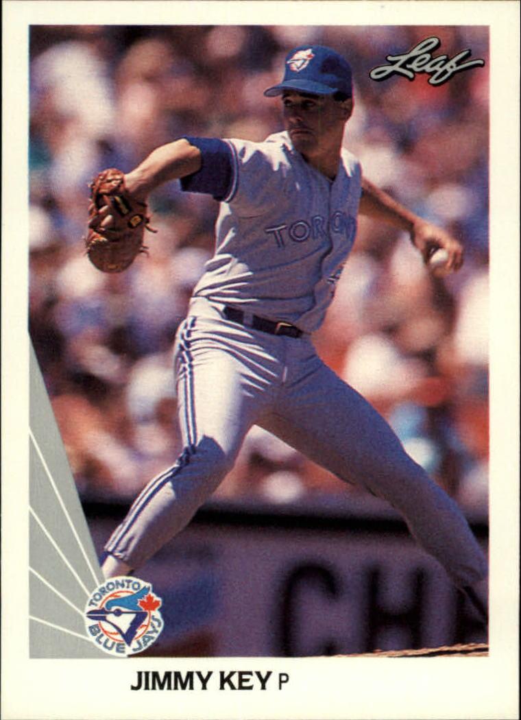 1990 Leaf #211 Jimmy Key