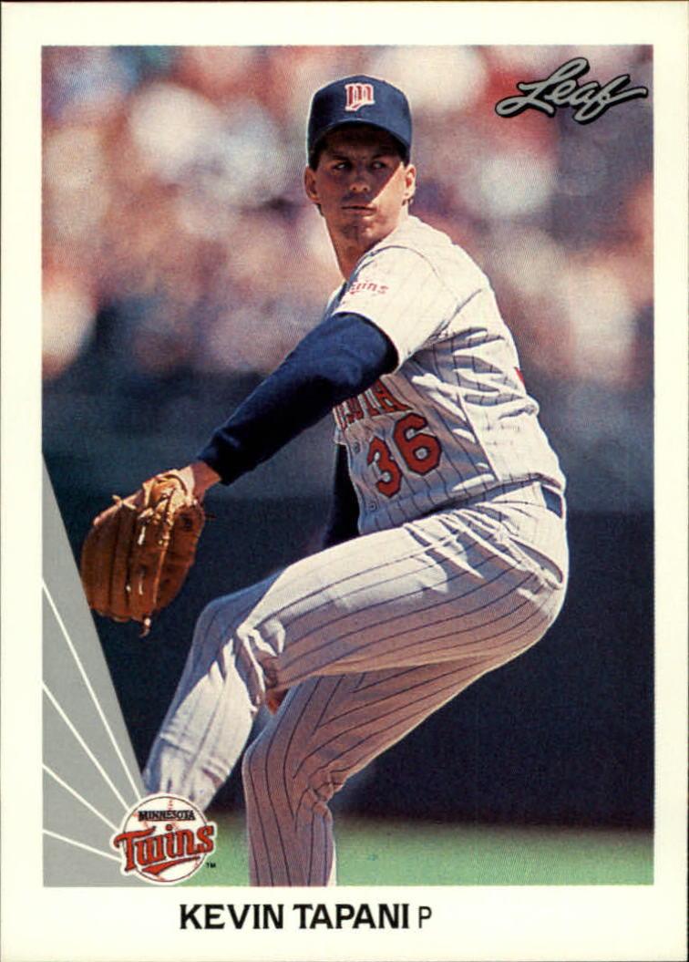 1990 Leaf #269 Kevin Tapani RC
