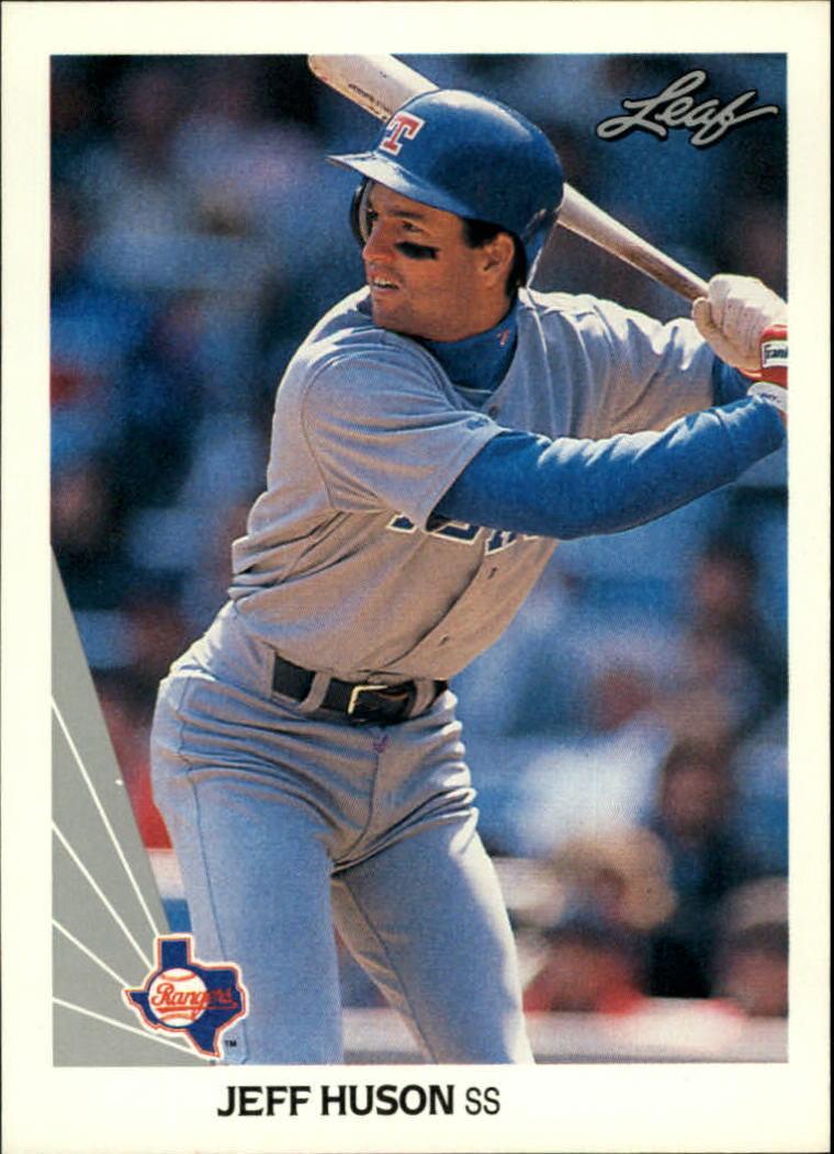 1990 Leaf #285 Jeff Huson RC