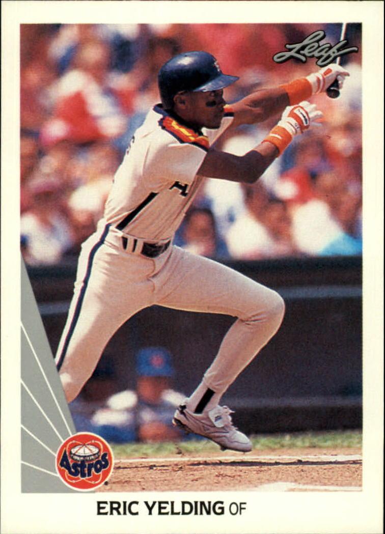 1990 Leaf #301 Eric Yelding RC