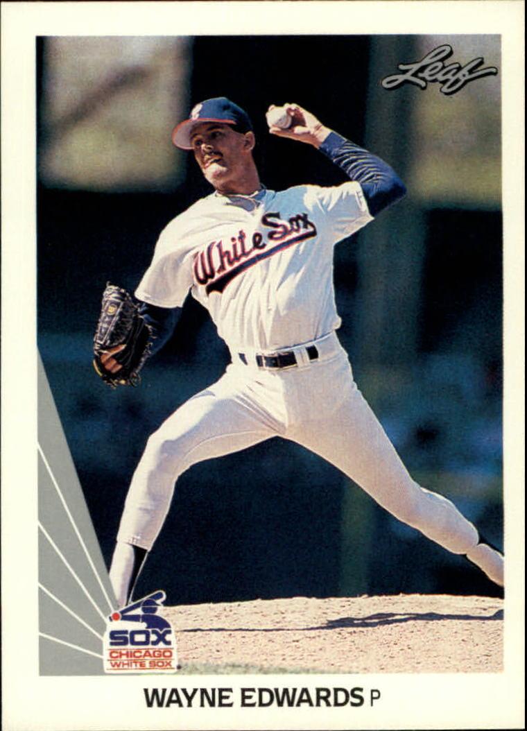 1990 Leaf #352 Wayne Edwards RC