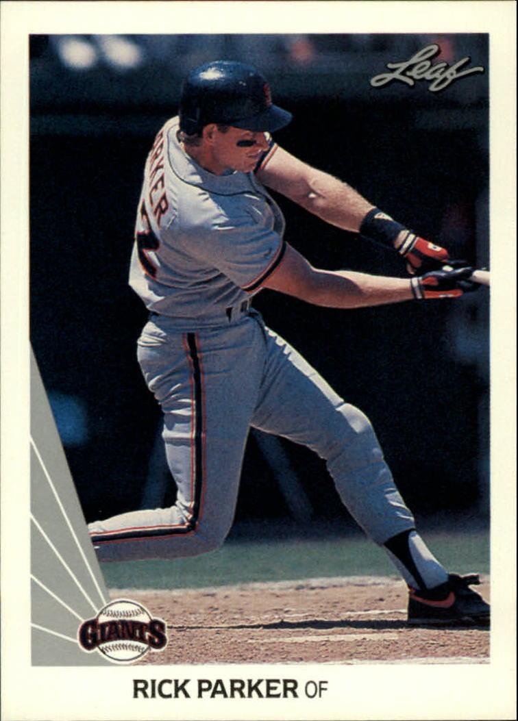 1990 Leaf #398 Rick Parker RC
