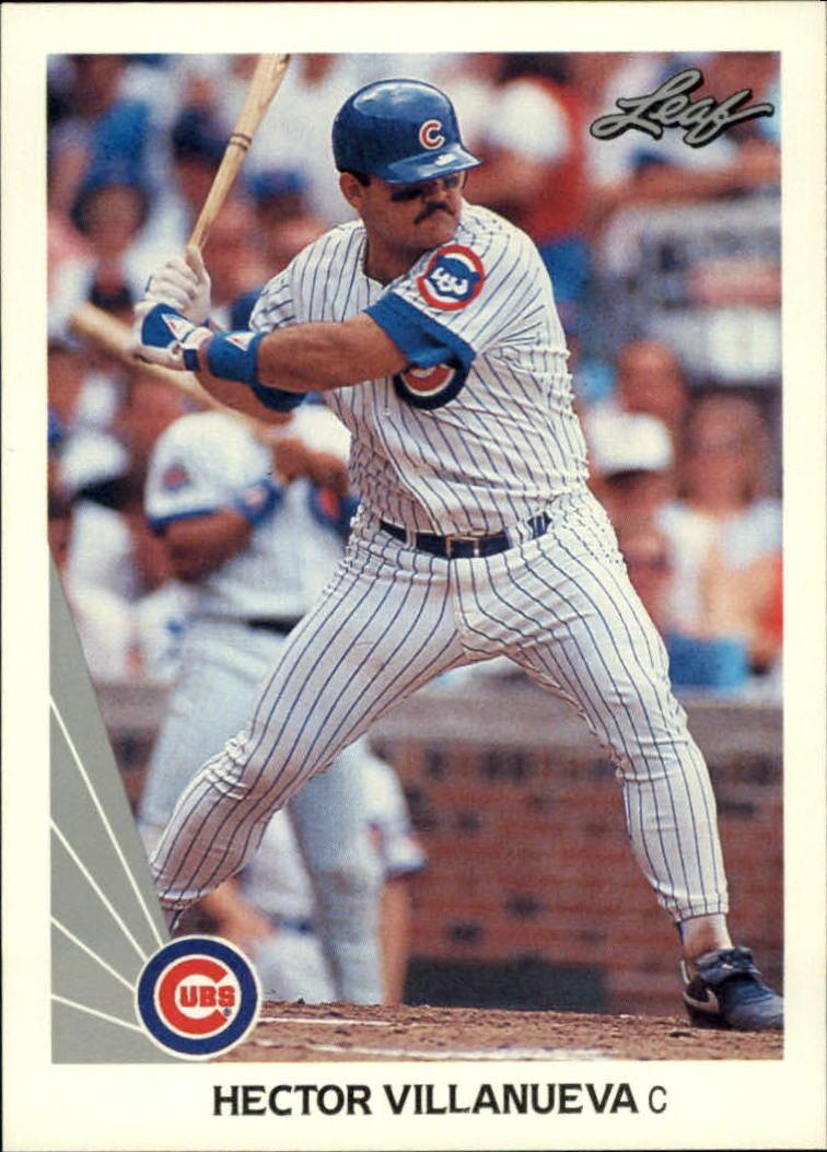 1990 Leaf #401 Hector Villanueva RC