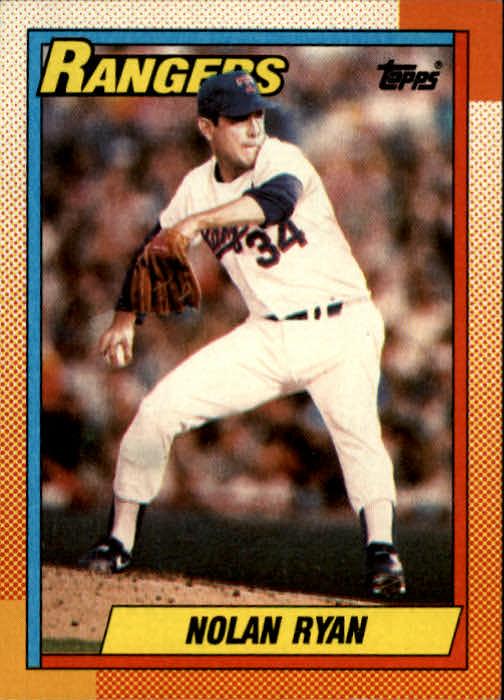 1990 Topps #1 Nolan Ryan