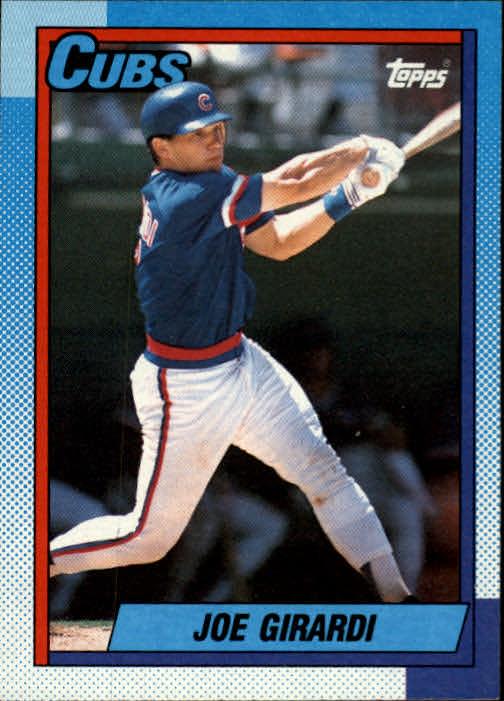 1990 Topps #12 Joe Girardi