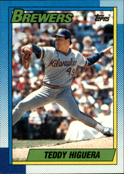 1990 Topps #15 Teddy Higuera