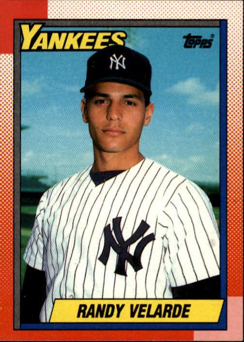 1990 Topps #23 Randy Velarde