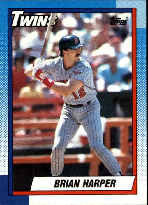 1990 Topps #47 Brian Harper
