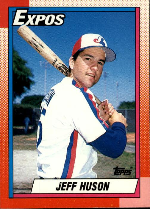1990 Topps #72 Jeff Huson RC