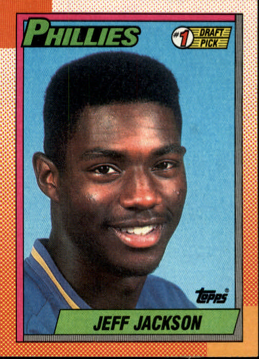 1990 Topps #74 Jeff Jackson FDP RC