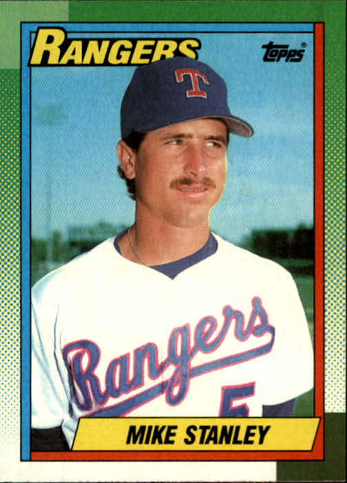 1990 Topps #92 Mike Stanley