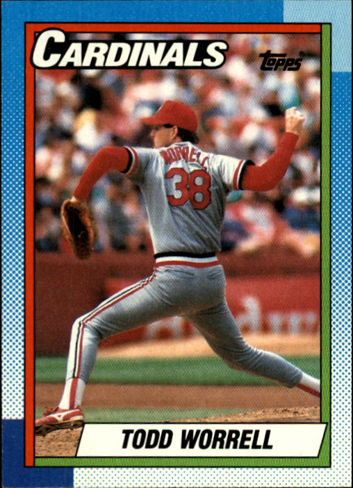 1990 Topps #95 Todd Worrell