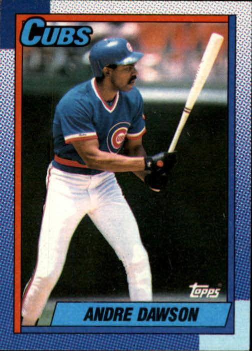 1990 Topps #140 Andre Dawson
