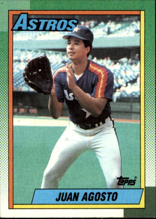 1990 Topps #181 Juan Agosto