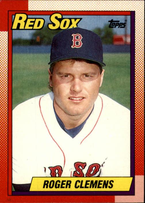 1990 Fleer Baseball Card #271 Roger Clemens