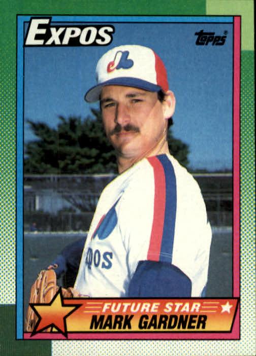 1990 Topps #284 Mark Gardner RC