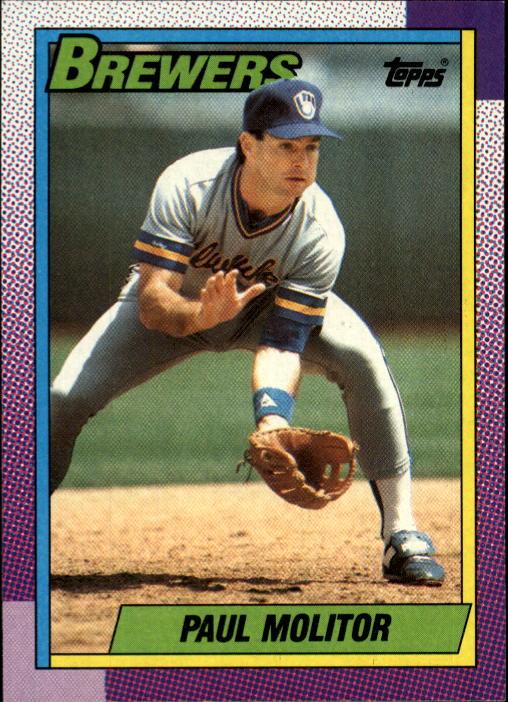 1990 Topps #360 Paul Molitor