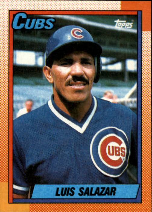 1990 Topps #378 Luis Salazar