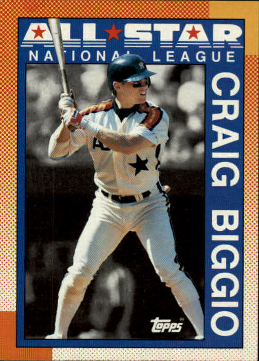 1990 Topps #404B Craig Biggio AS