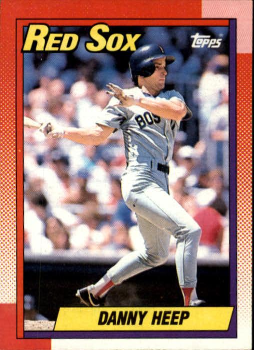 1990 Topps #573 Danny Heep