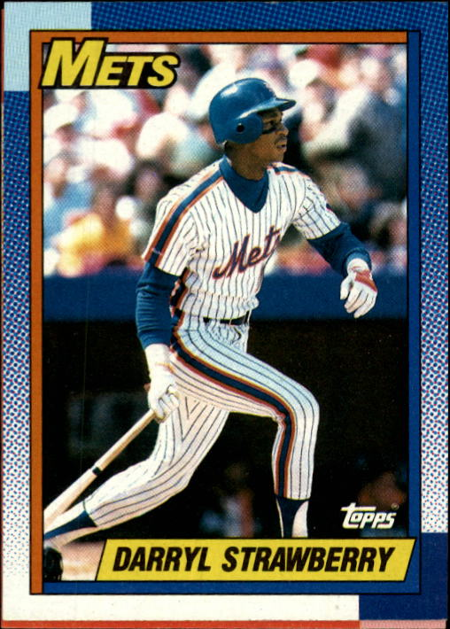 1990 Topps #600 Darryl Strawberry