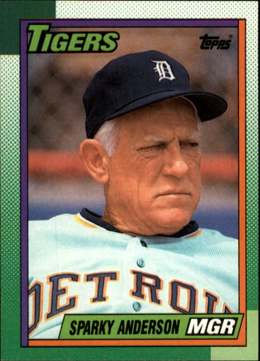 1990 Topps #609 Sparky Anderson MG