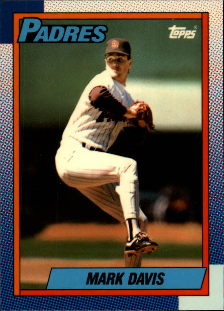 1990 Topps Tiffany #205 Mark Davis