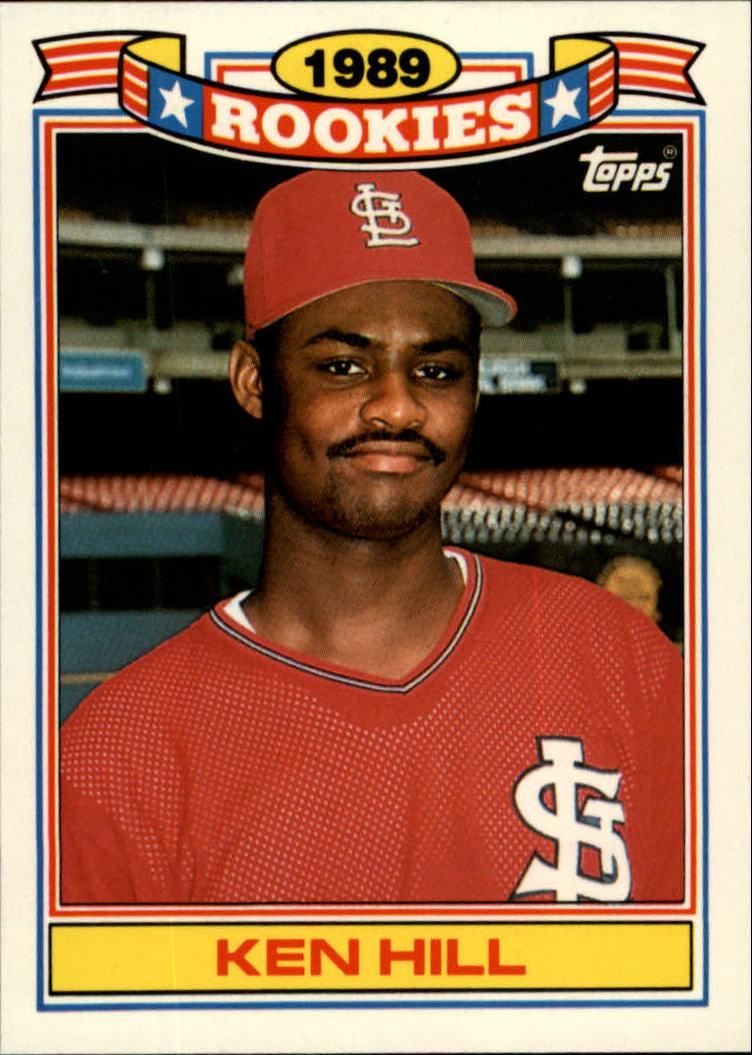 1990 Topps Rookies #15 Ken Hill