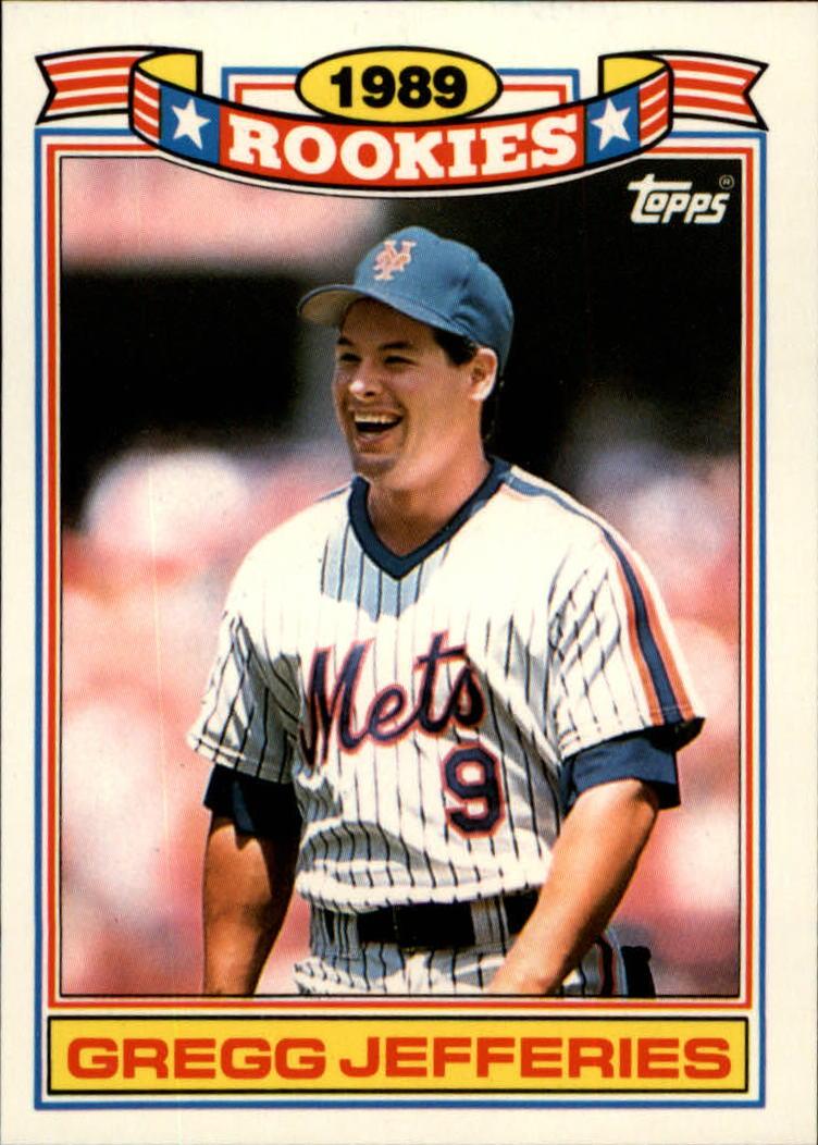 1990 Topps Rookies #16 Gregg Jefferies