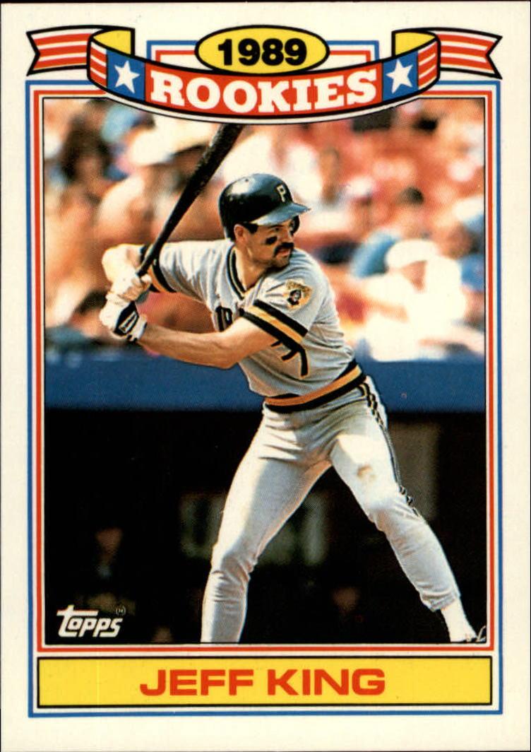 1990 Topps Rookies #17 Jeff King