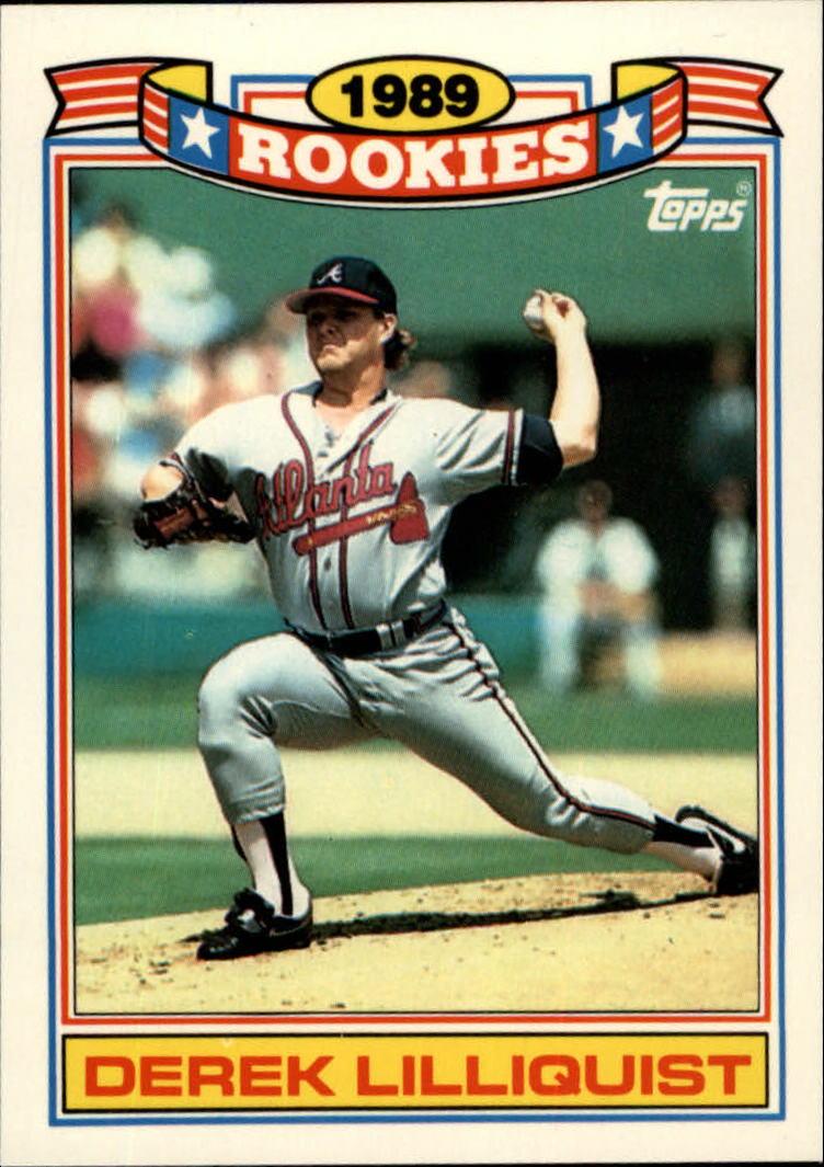 1990 Topps Rookies #18 Derek Lilliquist