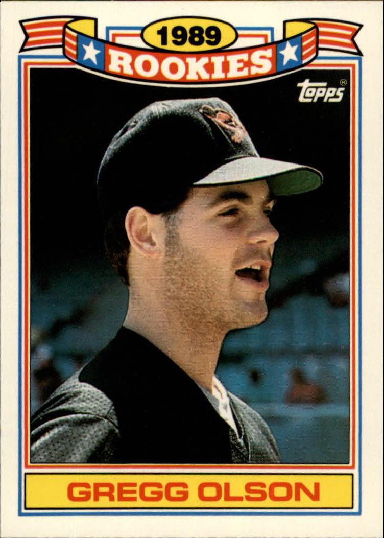 1990 Topps Rookies #22 Gregg Olson