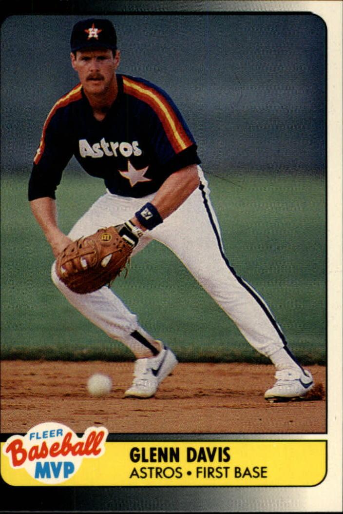 1990 Fleer Baseball Mvps 10 Glenn Davis Nm Mt