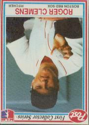 1990 Post #2 Roger Clemens