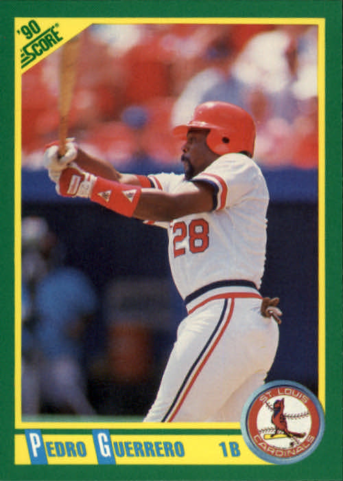 1990 Score #13 Pedro Guerrero