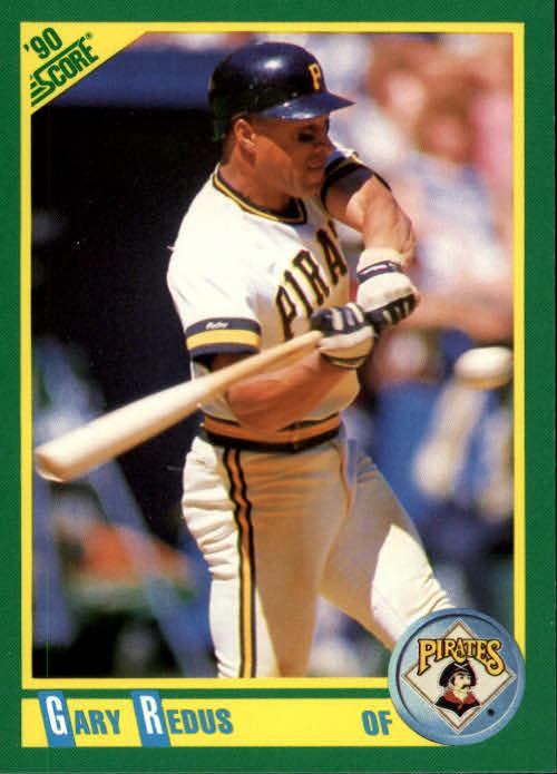 1990 Score #14 Gary Redus