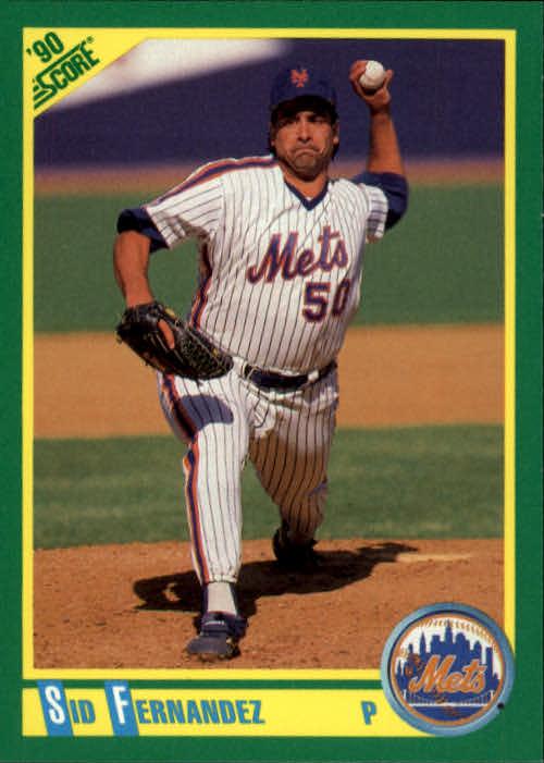 1990 Score #18 Sid Fernandez