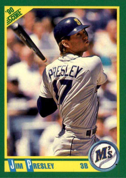 1990 Score #34 Jim Presley