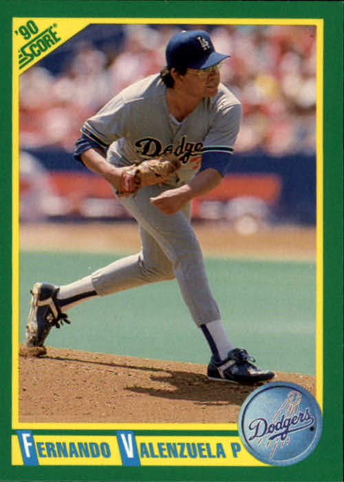 1990 Score #54 Fernando Valenzuela
