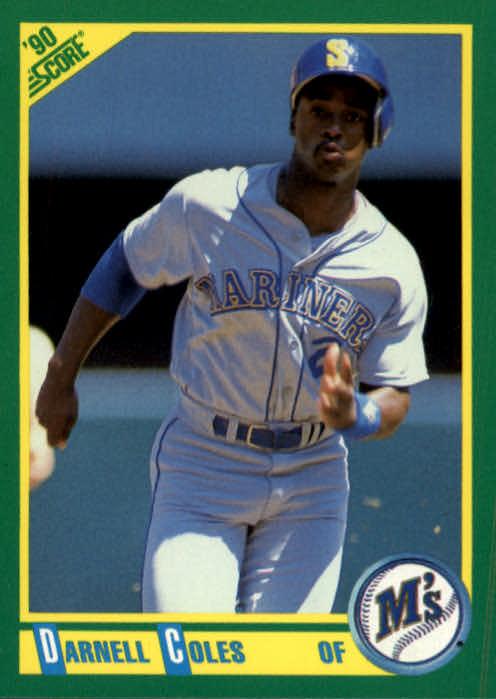 1990 Score #62 Darnell Coles