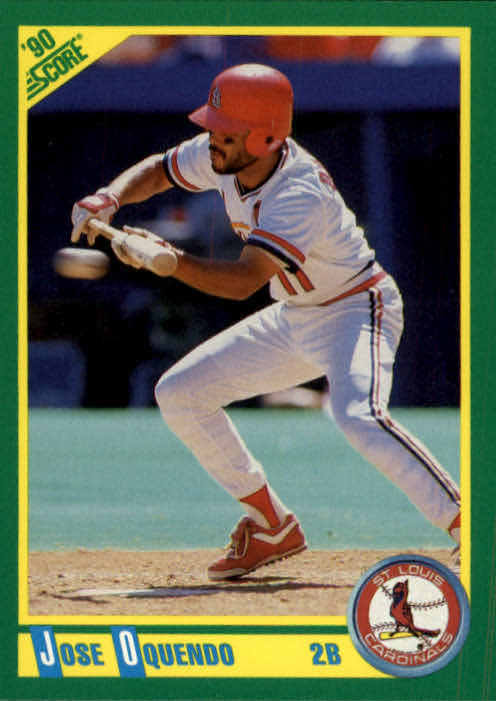 1990 Score #68 Jose Oquendo